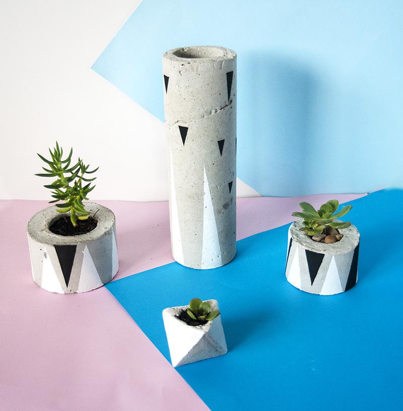 Concrete Pot Photoshoot