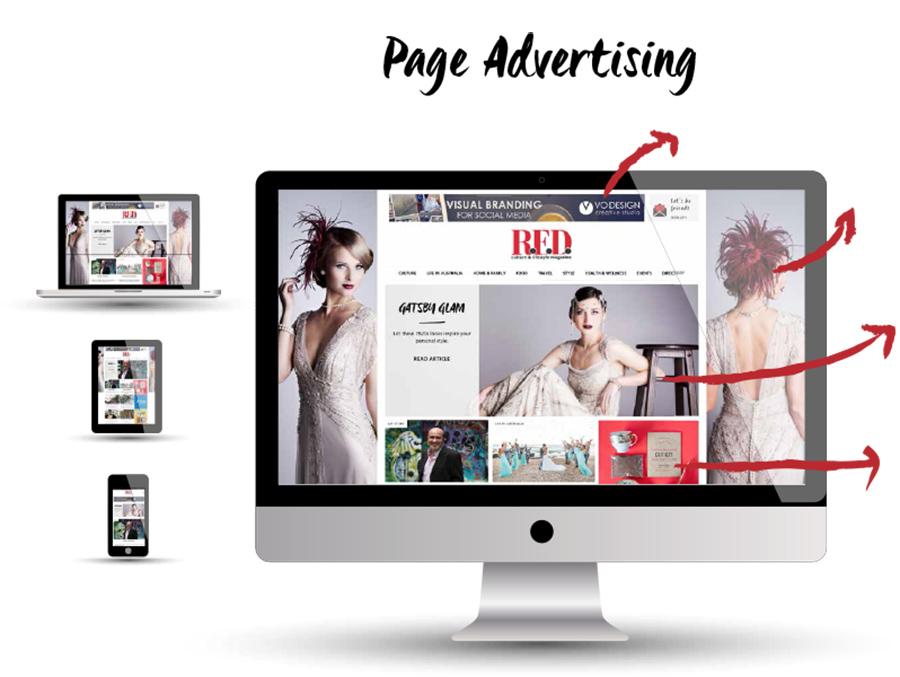 Ad Design (Half Page)