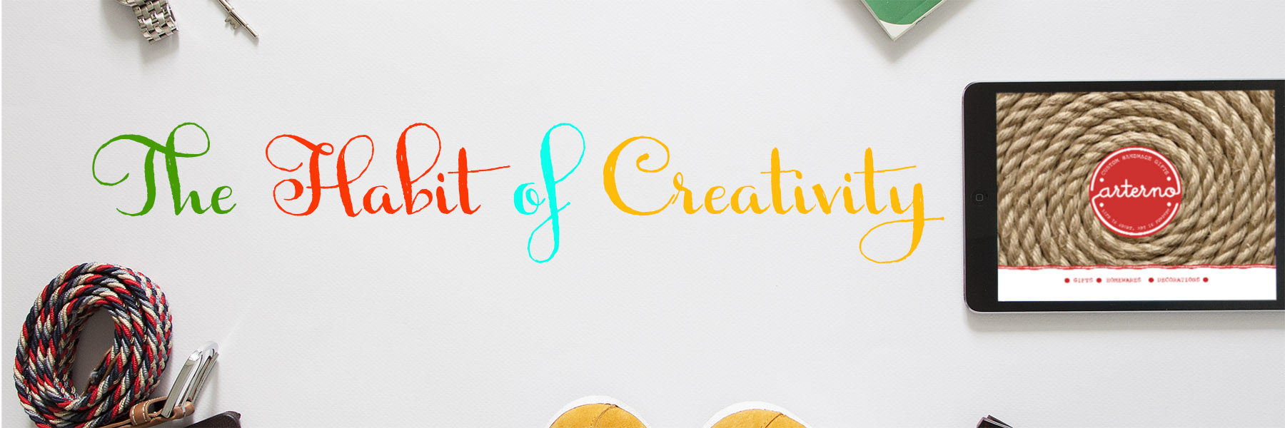 The Habit of Creativity Banner