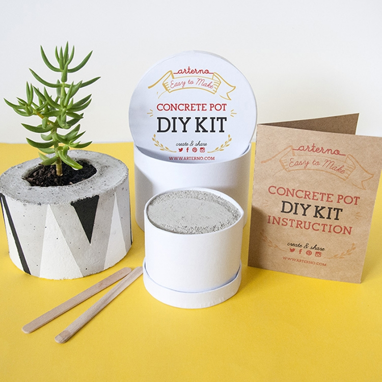 ArternoConcrete Pot DIY Kit