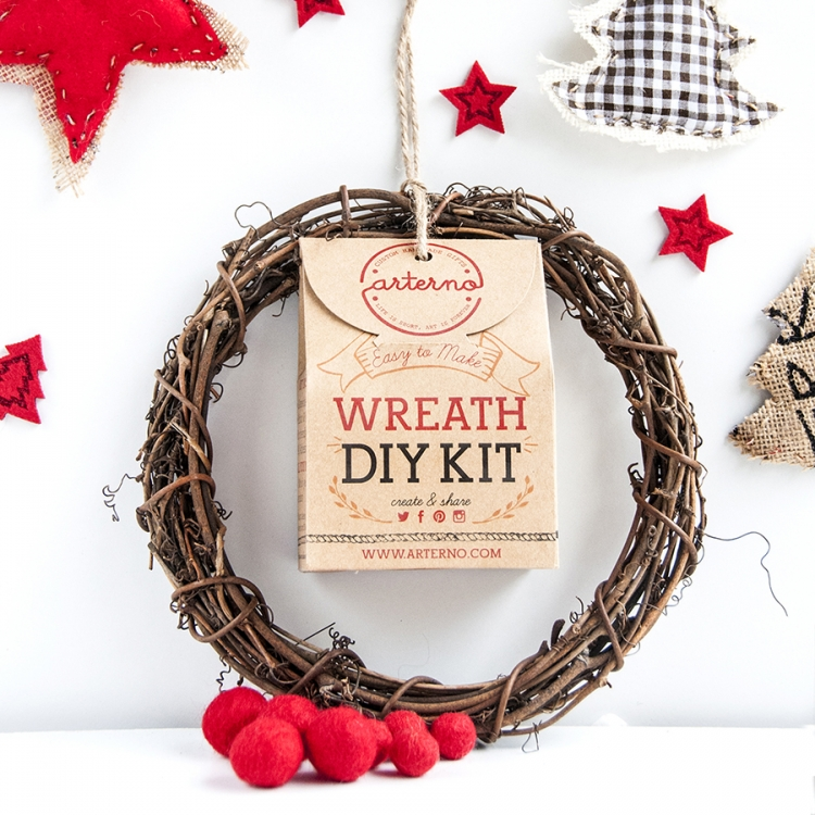 Arterno DIY Wreath Kit