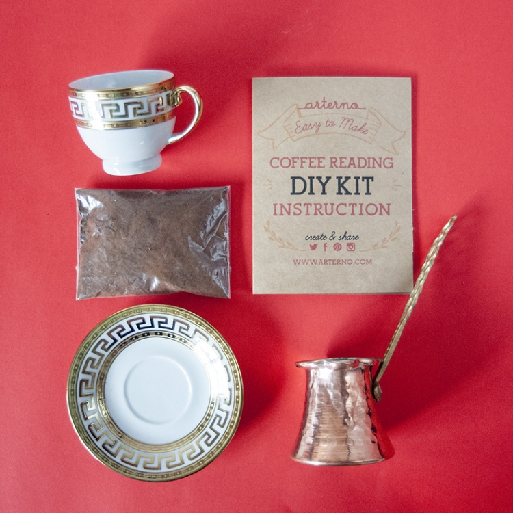Coffee Fortune Telling Kit