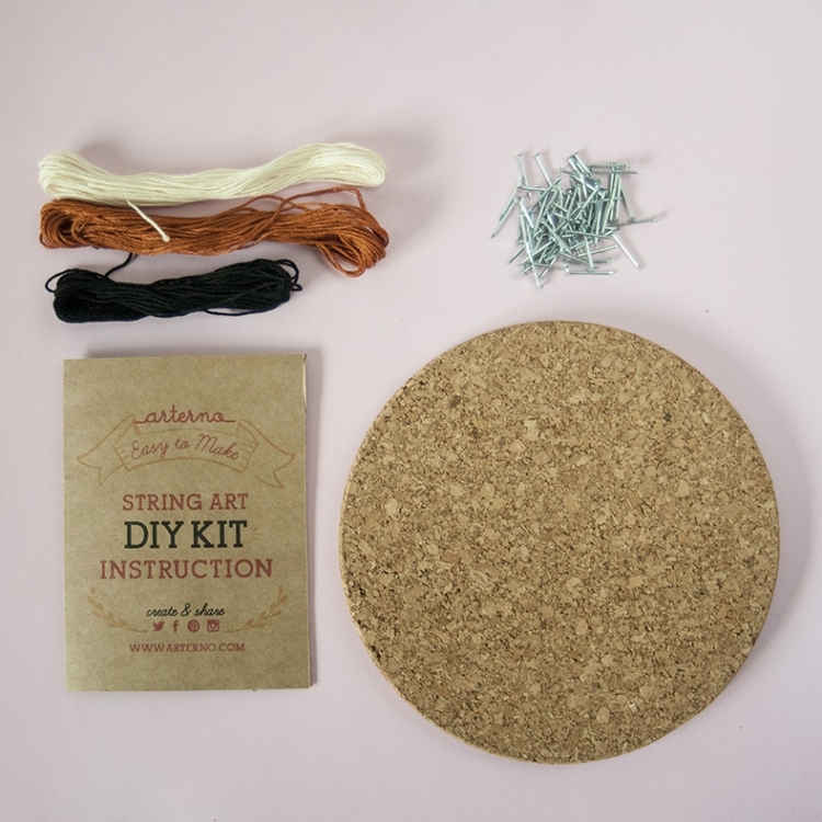 DIY COrk String Art kit