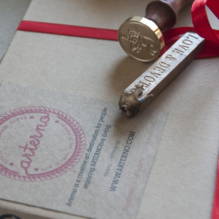Arterno Stamp Design