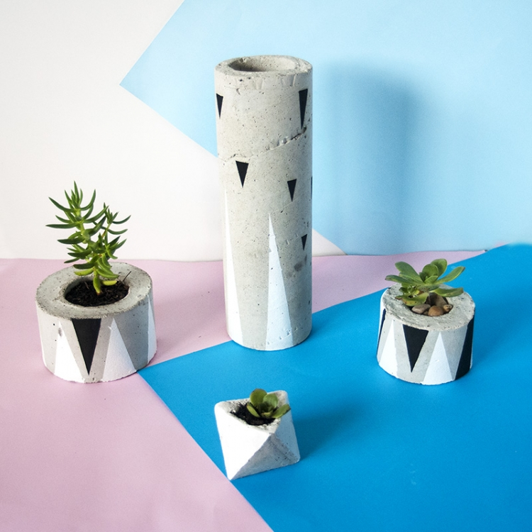 Concrete Pot Photoshoot