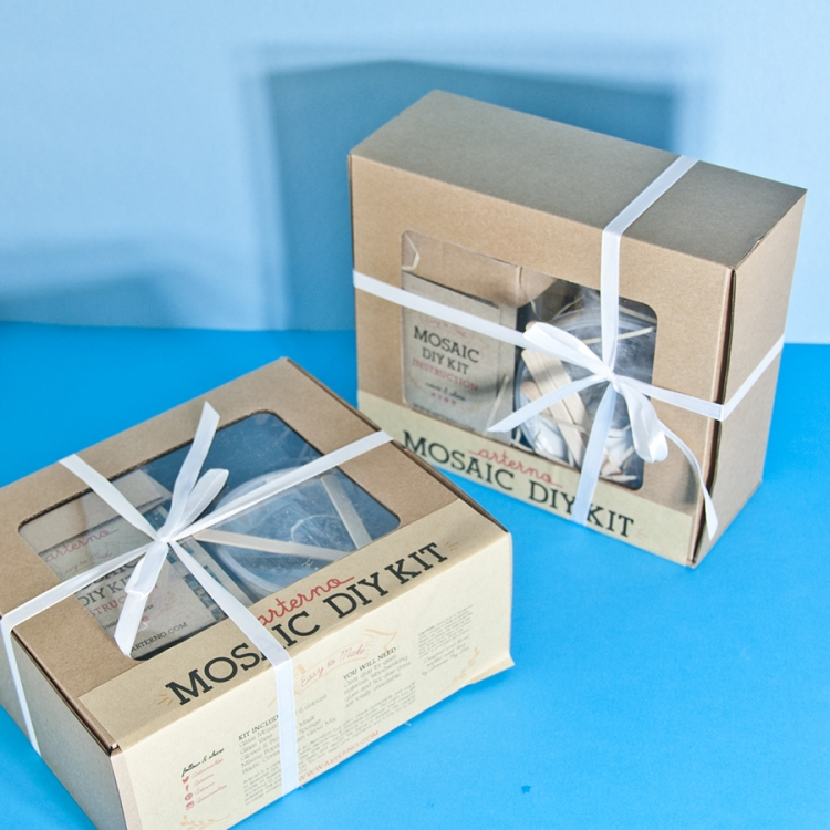 DIY Mosaic Kit Packaging