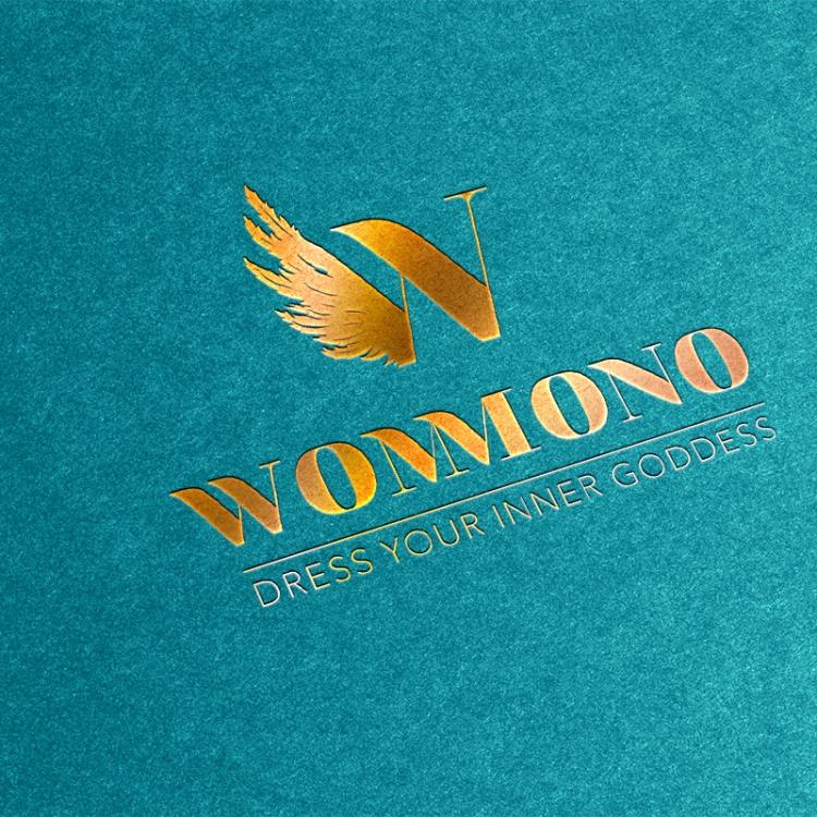 Gold Stamping Logo Mock-Up